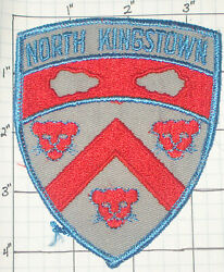 RHODE ISLAND NORTH KINGSTOWN POLICE DEPT PATCH $4.50
