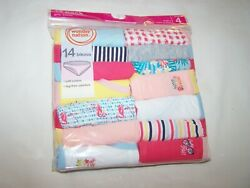 One Package of 14 Count Bikinis for Girl; Wonder Nation; Size 4; NIP $14.45