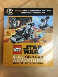 LEGO STAR WARS BUILD YOUR OWN ADVENTURE BATTLE FOR THE STOLEN CRYSTALS *DM $19.99