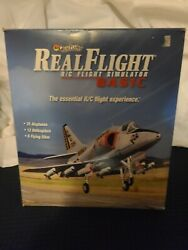 Great Planes RealFlight Basic R C Flight Simulator with 6 Channel Cont. TESTED $45.00