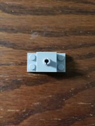 Lego 1 Light Bluish Gray 2x4 Brick Plate With 1 Pin Helicopter Mount $0.99