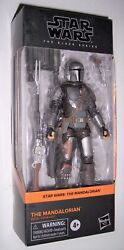 Star Wars 6quot; Black Series THE MANDALORIAN BESKAR ARMOR 01 Din Djarin MOC C9 New $36.99