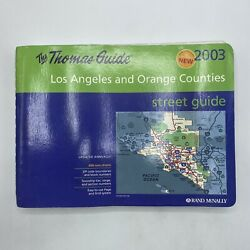 Thomas Guide 2003 Los Angeles amp; Orange County Street Guide used rand mcnally $13.99