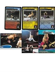 TOPPS WWE 6 CHRISTIAN WRESTLING CARDS 3 ARE GAMING CARDS $1.89