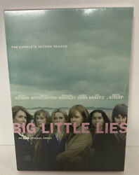 Big Little Lies: The Complete Second Season 2 DVD 2 Disc New Free Shipping US $10.38