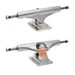 Independent Skateboard Trucks Mids Silver Polished Mid Pair Choose Size $53.95