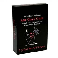 54 Love Oracle Cards Tarot Decks Clarification and Complement Deck With Keywords $12.34