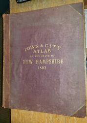 D. H. Hurd amp; Co. Town amp; City Atlas of the State of N... $499.99