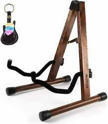 Stand Acoustic Guitar Floor Electric Fram Holder Wood Guitar Stand Guitar A Bass $21.95