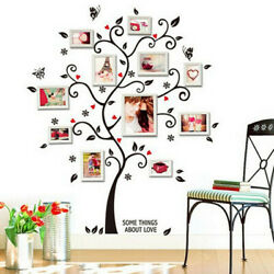 Frame Tree Wall Stickers Muslim Vinyl Home Stickers Wall Decor Decals USA Stock $6.74