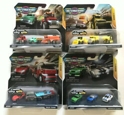 Micro Machines 2020 Series 1 Farm Construction Muscle Cars Race Team NEW $34.95