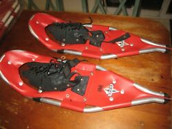 REDFEATHER HAWH SNOWSHOES Red Feather HIKE 26 Hiking Snow Shoes USED NICE SEE $69.99