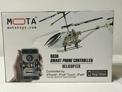Mota toy 6036 Smartphone Controlled Helicopter for IPhone Free App New $35.00