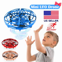 360° Mini Drone Smart UFO Aircraft for Kids Flying Toys RC Hand Control Xmas US $16.59