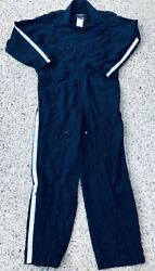 Gibson amp; Barnes Nomex IIIA Navy Blue Helicopter Flight Suit Made In USA $24.00