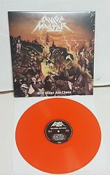 Savage Master With Whips and Chains Orange Vinyl LP Record new $32.99