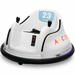 Kidzone 12V Kids Electric Ride On Bumper Car 360 Spin ASTM Certified 9 Colors $199.96