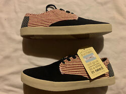 Toms Paseo Americana Canvas Flag Size 12 Mens $30.00