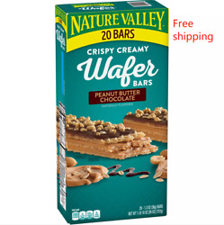 Nature Valley Peanut Butter Chocolate Wafer Bar 20 ct. $17.42