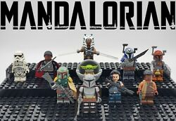 Star Wars NEW Mandalorian Series Set Minifigures Custom Lot USA SELLER $21.99