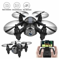 Mini T906W 720P HD WIFI FPV Camera quadcopter RC Helicopter drone self Kid#x27;s toy $74.89