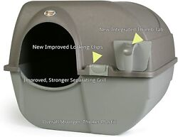 Cat Litter Box Self Cleaning Automatic Roll N Clean Removable Tray Waste Scoop $47.32