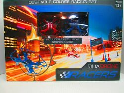 Quadrone Racers Drones 2 Pack New in Box $25.00