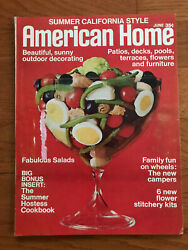 American Home 1971 Burket Graf Pools Outdoor Decorating California Style Camping