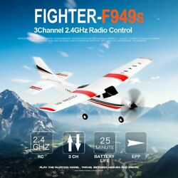 WLtoys F949 CESSNA 182 2.4G 3CH RC RTF Airplane Aircraft Fixed Wing Plane US $65.99
