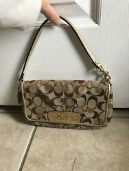 Authentic RETIRED 2011 Poppy Hearts Coach Valnetines Mini Shoulder Bag bags $50.00