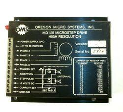 OMS Oregon Micro Systems MD125 Microstep Drive High Resolution $56.99