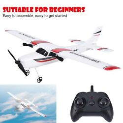 RC Plane 2.4Ghz 2CH Remote Control Airplane Ready To Fly RTF Gliding Aircraft QH $30.79
