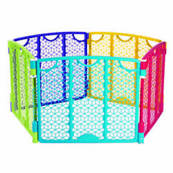 Evenflo Versatile Playspace Indoor Outdoor Portable Child Gate Multi Color $54.99