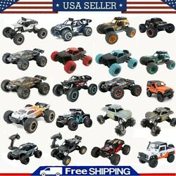 Electric RC Cars 2.4G 4WD Monster Truck Off Road Vehicle Remote Control Buggy $57.59