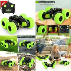 RC Cars Stunt Car Toy Remote Control Car 4WD 2.4Ghz Double Sided Wheels $34.54