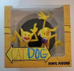 Nickelodeon Exclusive Nick Box Cat Dog Collection Vinyl Figure Rare 90s TV Show $17.00