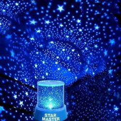 LED Starry Night Sky Projector Lamp Star Light Master Party Decor Xmas Gifts USA $12.23