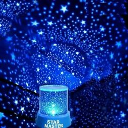 LED Starry Night Sky Projector Lamp Star Light Master Party Decor Xmas Gifts USA $12.50