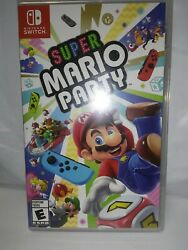 Super Mario Party for Nintendo Switch Game and Case $45.00