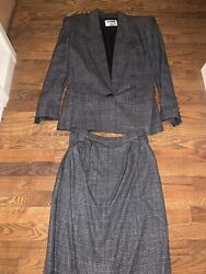 womens skirt suits size 8 $31.99