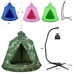 Outdoor Hanging Tree Tent Kids Adults Hammock Swing Chair Fun Play Tent Camping $78.99