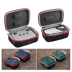 For DJI Mavic Mini 2 Quadcopter Controller PU Cover Travel Bag Shell Shockproof $15.18