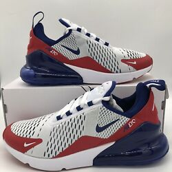 Nike Air Max 270 Mens Size Shoes CW5581 100 USA University Red White Blue NEW $139.97