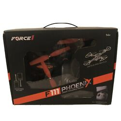 Force1 PHOENIX F111 Foldable Drone with Camera Quadcopter $15.00