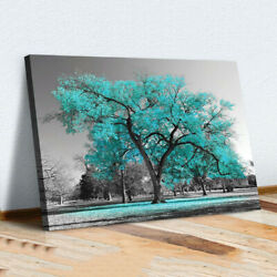 Large Tree Canvas Modern Wall Art Oil Painting Picture Print Unframed Home Decor $12.13