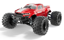 Redcat Racing Volcano 16 1 16 Scale Brushed RC Monster Truck Red NEW $99.99