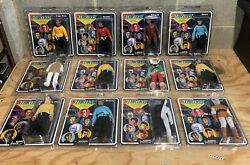 Lot Of 12 STAR TREK Diamond Select Toys 8quot; Retro Cloth action figures $499.00
