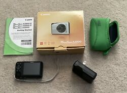 Canon 14.1 MP Power Shot A2200 Digital Camera 4X Optical Zoom Ships Out Fast $27.99