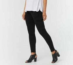 Legacy Women#x27;s Denim amp; Twill Cargo Leggings Black 3X A377858 $16.74