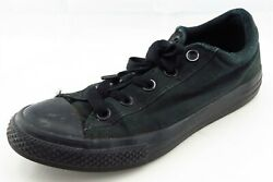 Converse all Star Boys Shoes Size 4 M Black Fabric Casual Shoes $17.99